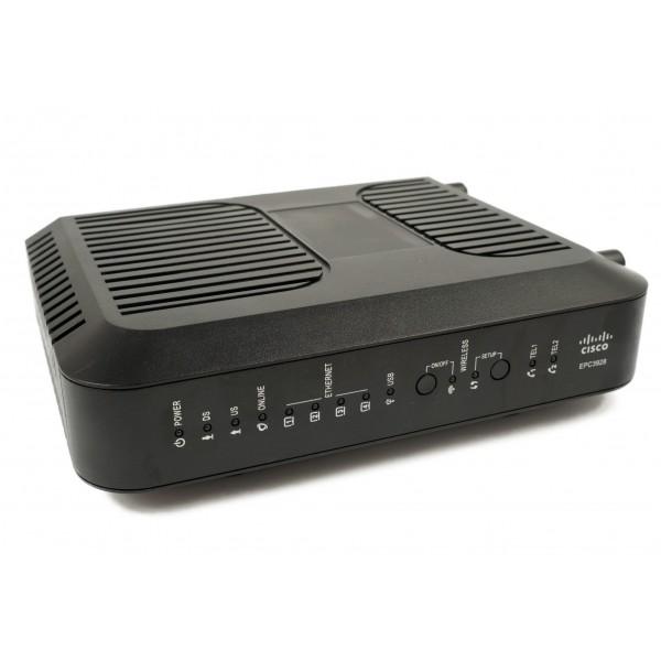 EPC3928S Cisco EPC3928 EuroDOCSIS 3.0 8x4 Channel Bonding Modem Refurbished