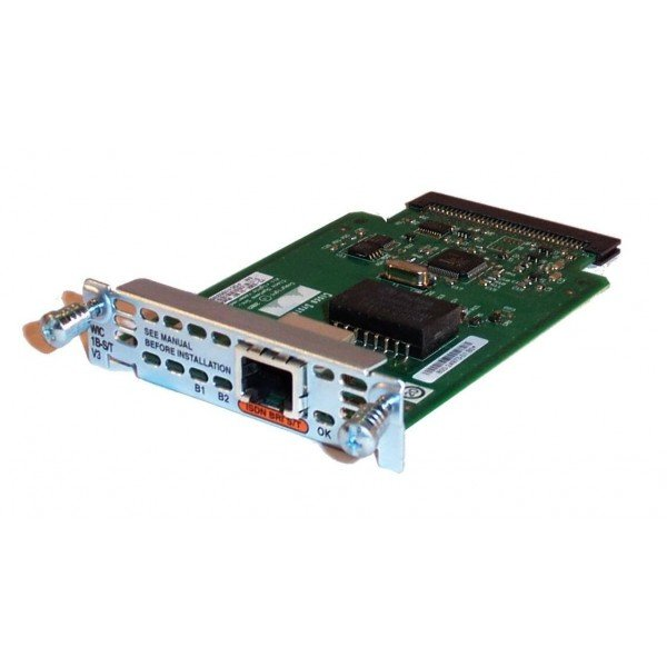 WIC-1B-S/T-V3 Cisco WAN Interface ISDN Port Router...