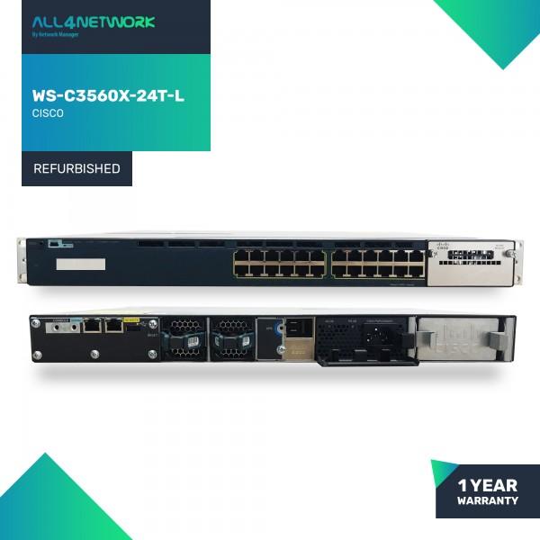 WS-C3560X-24T-L  Cisco 3560X Series Gigabit Ethern...