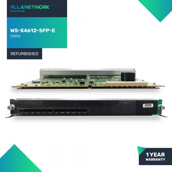 WS-X4612-SFP-E Cisco 4500 Series 12 SFP Ports Giga...
