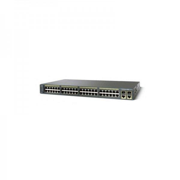 WS-C2960-48PST-L Cisco 2960 Series 48 PoE Ports La...