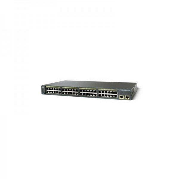 WS-C2960-48TT-L Cisco Catalyst 2960 Series 48 Port...