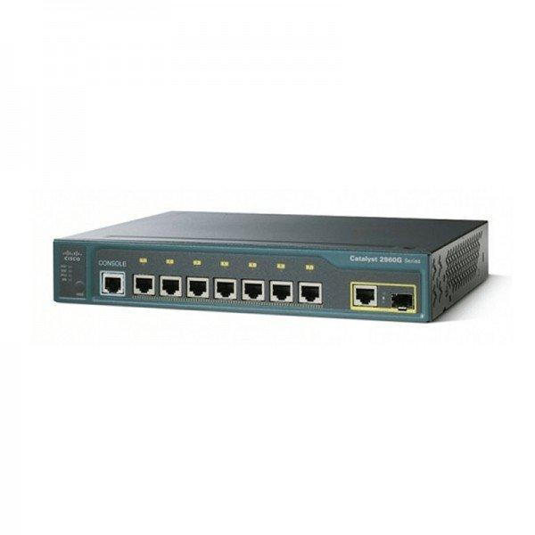 WS-C2960G-8TC-L Cisco Catalyst 2960 Series 8 Gigab...