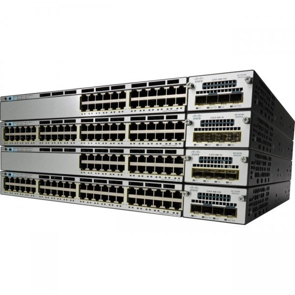 WS-C3750X-24U-S Cisco Catalyst 3750 Series UPOE G...