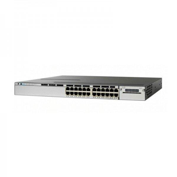 WS-C3850-24P-S Cisco Catalyst 3850 Series SFP+ Gig...