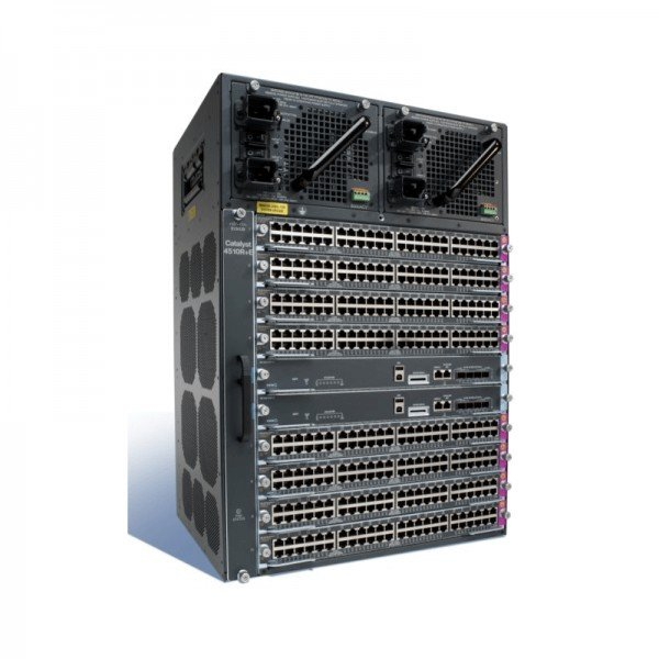 WS-C4510R+E Cisco Catalyst 4500 Series 10 Slots Ch...